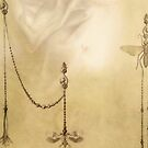Sepia Stains Tarot Detail by AtticCartomancy