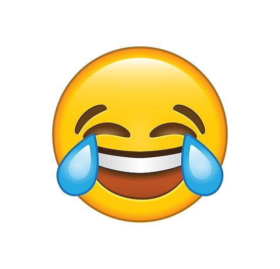 Pósters «Riendo Llorando / Lágrimas De Alegría Emoji» De