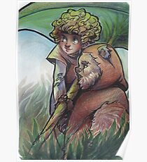 Cindel and wicket Poster