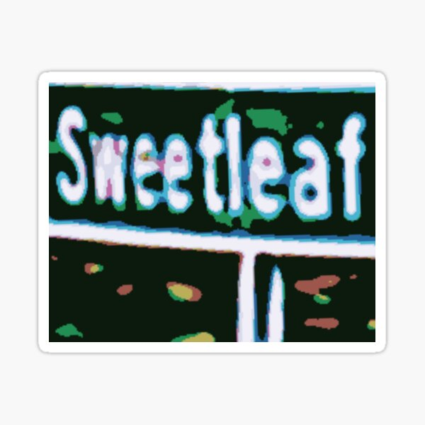 Sweetleaf Sticker