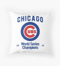 Chicago Cubs (World Series Edition) Throw Pillow