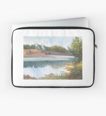 Evening over Smotrych river  Laptop Sleeve