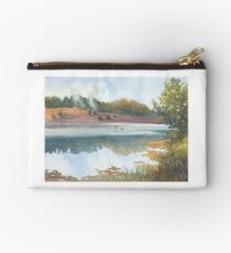 Evening over Smotrych river  Studio Pouch