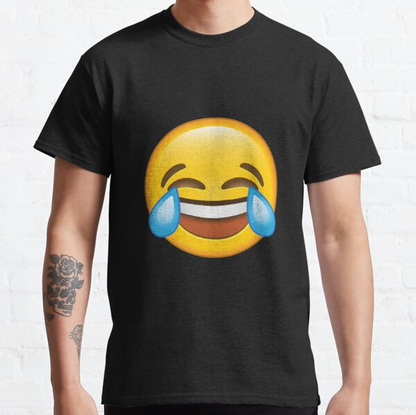 Laughing Crying/Tears of joy Emoji Classic T-Shirt