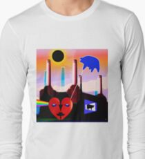PINK FLOYD ECLIPSED BATTERSEA Long Sleeve T-Shirt