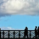 Silhouettes on the Bridge by cclaude