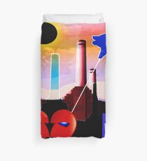 PINK FLOYD ECLIPSED BATTERSEA Duvet Cover