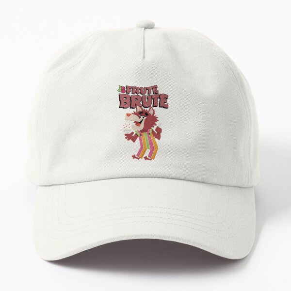 Classic 70s Frute Brute Werewolf Monster Cereal Mascot and Logotype Dad Hat