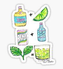 Mint Julep Sticker