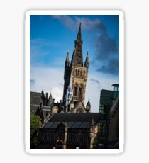 University Tower Sticker