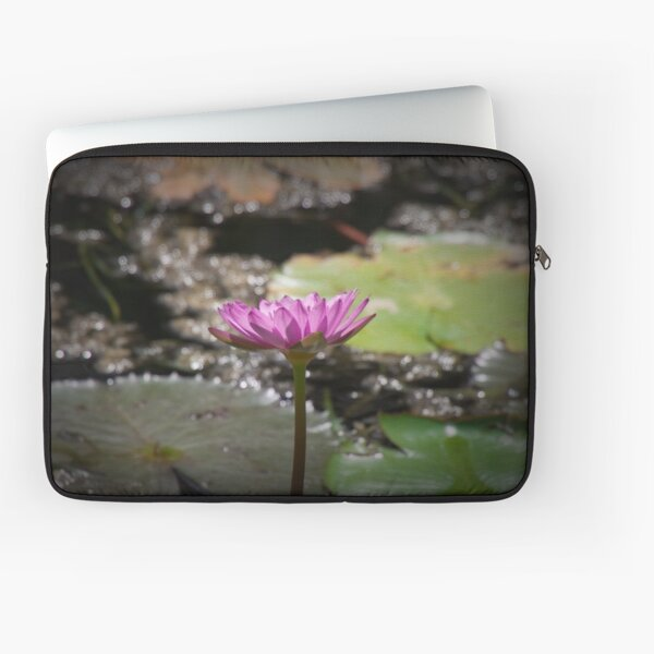Water Lilly Laptop Sleeve