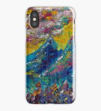 yellow mountians iPhone Case/Skin