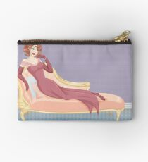 Classy with Curls Zipper Pouch