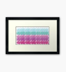 Coloured Framed Print