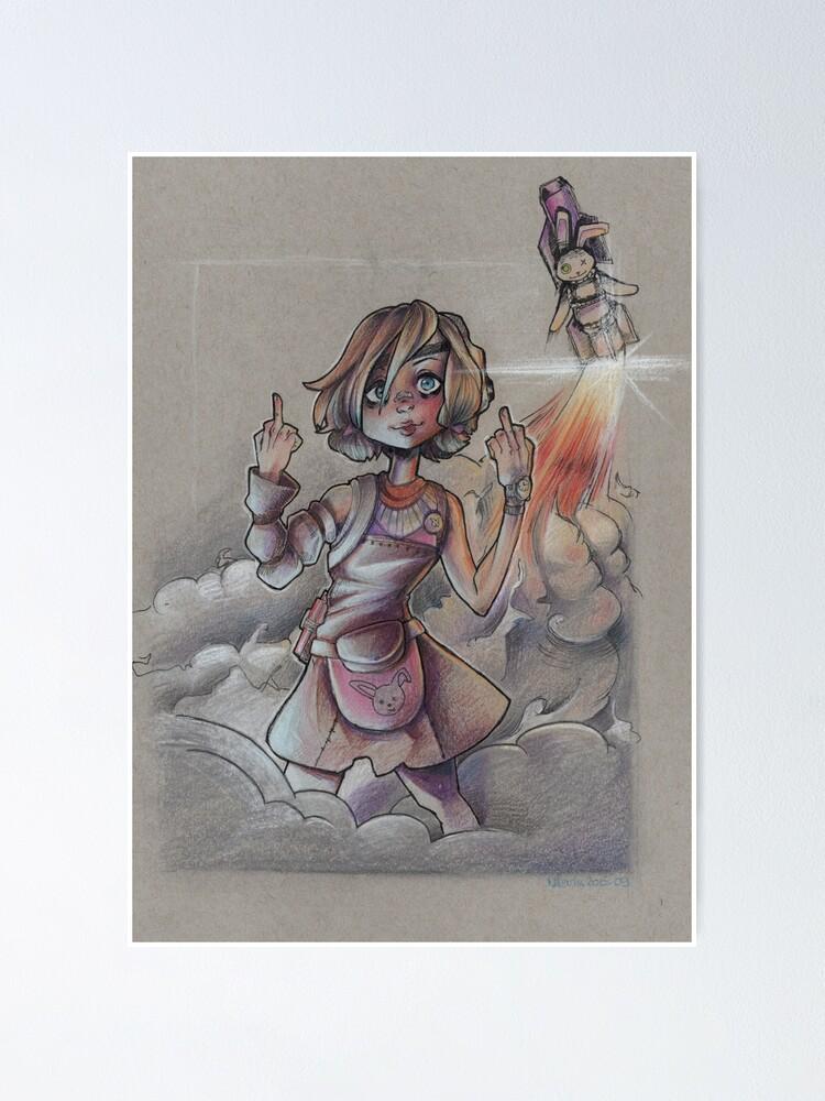 Alternate view of Tiny Tina -Borderlands Poster