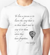 Beautiful quote on love Unisex T-Shirt