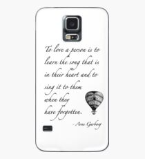 Beautiful quote on love Case/Skin for Samsung Galaxy