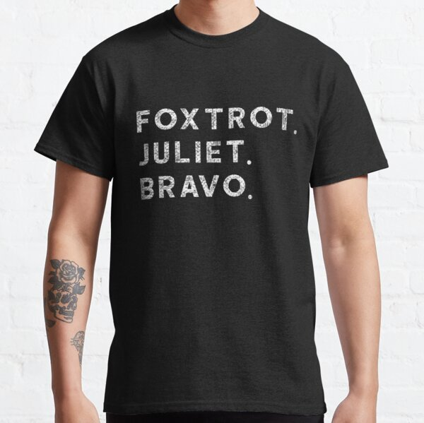 FJB Foxtrot Juliet Bravo Biden Hashtag Pro America US Funny Classic T-Shirt