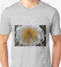 Surprise on the balcony - Queen of the Night (Epiphyllum Oxypetalum) Unisex T-Shirt