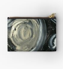 SILVER MOON - ABSTRACT Studio Pouch