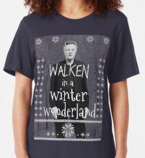 Walken Ugly Sweater Slim Fit T-Shirt