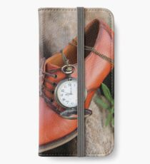 Victorian Shoes in Time iPhone Wallet