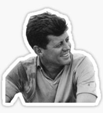 John F Kennedy Sticker Sticker