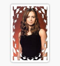 Buffy Angel Faith Eliza Dushku 2 Sticker