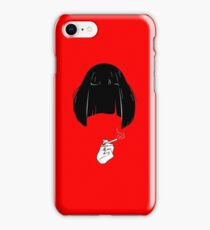 Mia - Pulp Fiction art iPhone Case/Skin