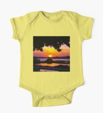 Sunset under two canopies One Piece - Short Sleeve