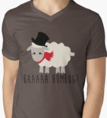 Sheep - Bah Humbug - Scrooge  Mens V-Neck T-Shirt