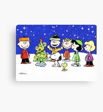 CHARLIE BROWN CHRISTMAS 15 Canvas Print