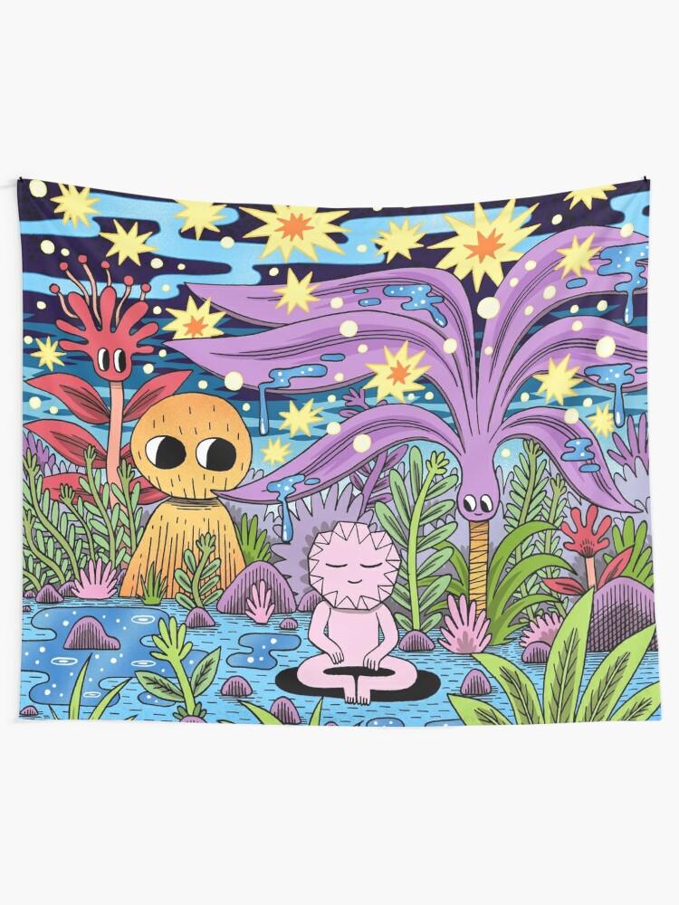 Alternate view of Meditation Tapestry