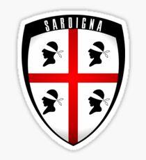 Sardinia - crest Sticker