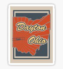 Dayton Ohio Sticker