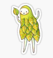 I Has A Leaf! Sticker