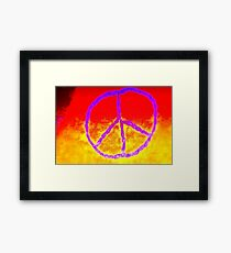 Passionate Peace Framed Print