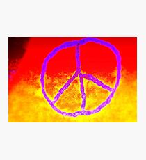 Passionate Peace Photographic Print