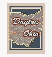 Dayton Ohio v2 Photographic Print