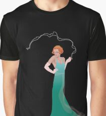 Vision in Green Graphic T-Shirt
