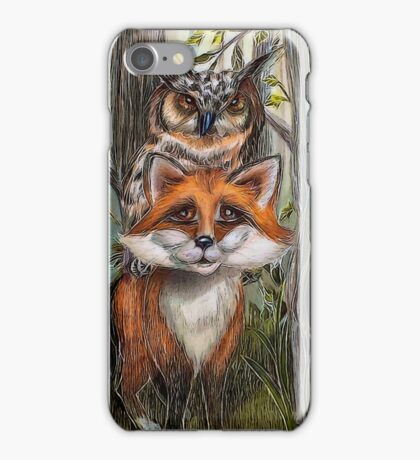 The Wise and the Clever  iPhone Case/Skin