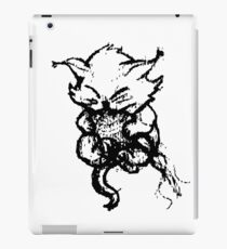 Cute Kitten playing with String iPad Case/Skin