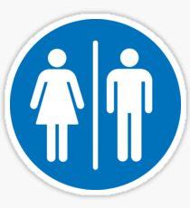 Female/Male (request different colours) Sticker