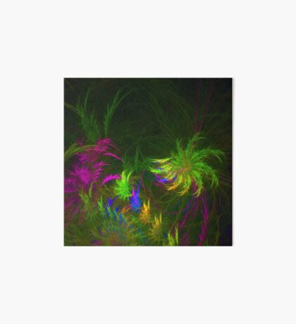 Jungle #fractal art 2 Art Board Print