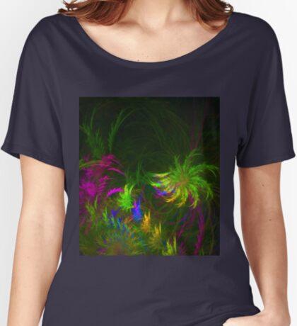 Jungle #fractal art 2 Relaxed Fit T-Shirt