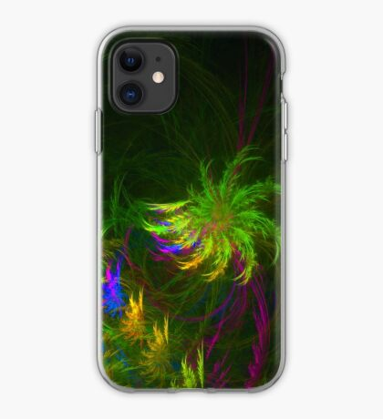 Jungle #fractal art 2 iPhone Case