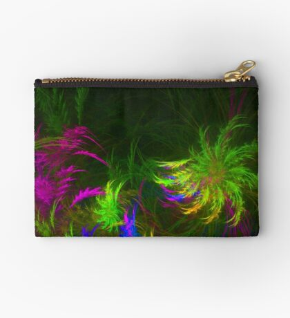 Jungle #fractal art 2 Zipper Pouch