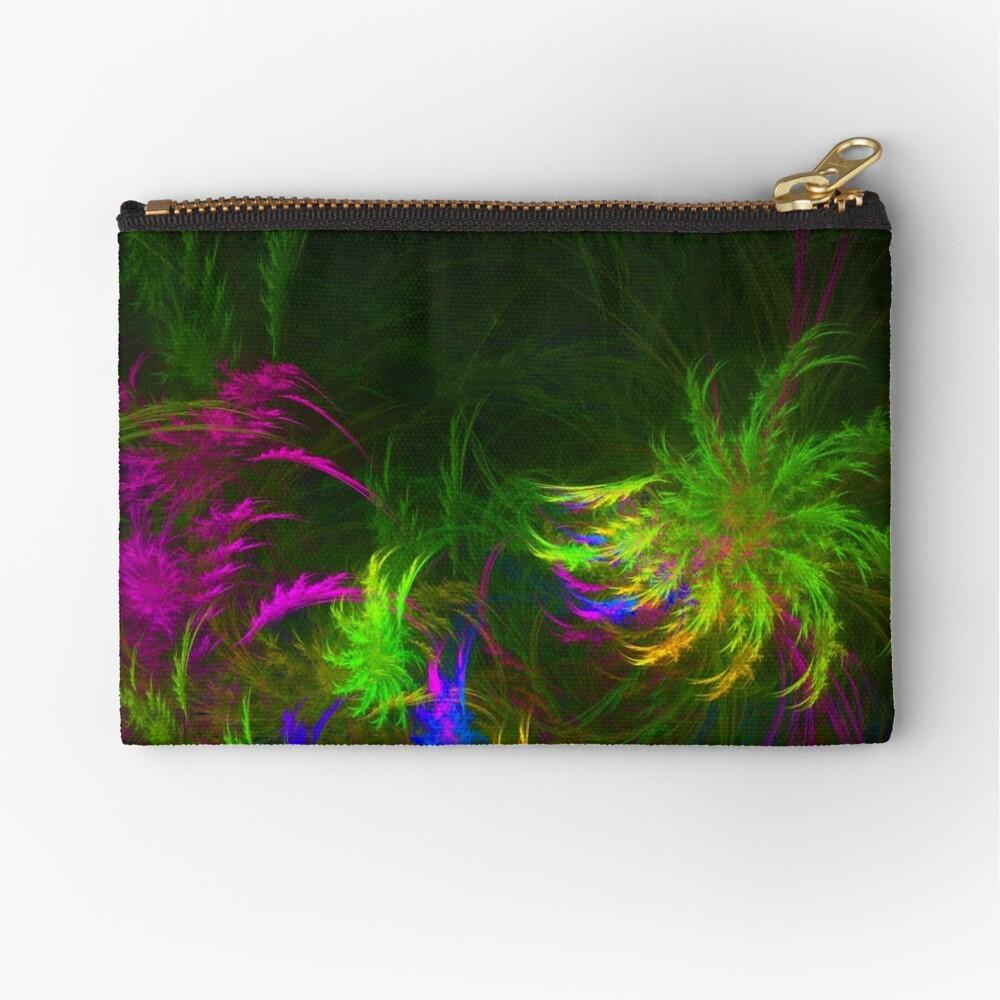 Jungle #fractal art 2 Zipper Pouch