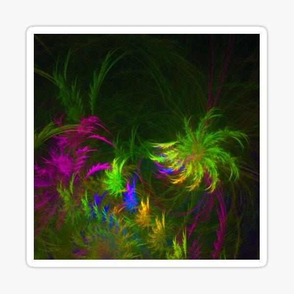 Jungle #fractal art 2 Sticker