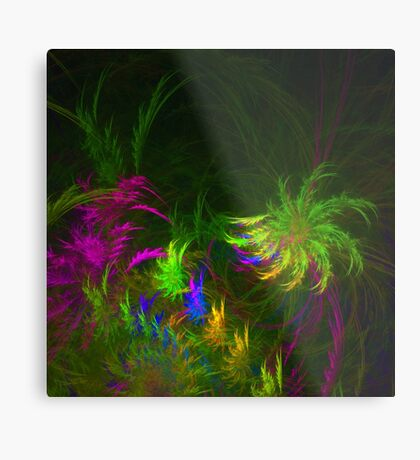 Jungle #fractal art 2 Metal Print